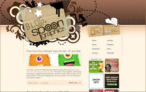 Blog.SpoonGraphics.co.uk