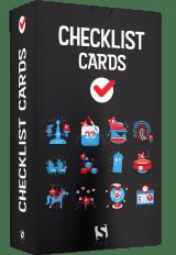 Cartes de listes de contrôle de conception d'interface