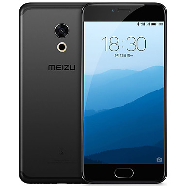 Meizu Pro 6s Unlocked Cell Phone With 3D Press 10-Core Processor 5.2-inch 1080P AMOLED Screen 4GB64GB International Version Black