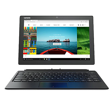 Lenovo Miix5 12.1 Inch 2 in 1 Windows 10 Tablet with Keyboard and Pen (Intel i7-6500U 8GB DDR4 256GB SSD 1920*1200 IPS FHD Screen Quad Core)