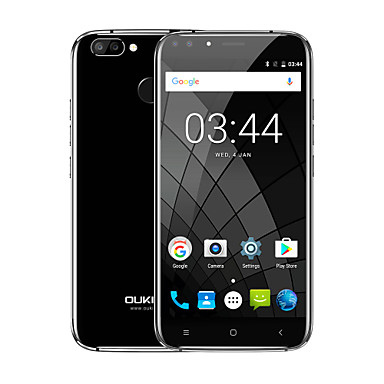 OUKITEL U22 WCDMA 3G Smartphone Dual Front Cameras Fingerprint Id 5.5 inch Android 7.0 MTK6850A Quad Core Dual SIM mobile phone