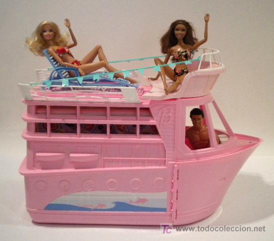 Resultado de imagem para barco da Barbie