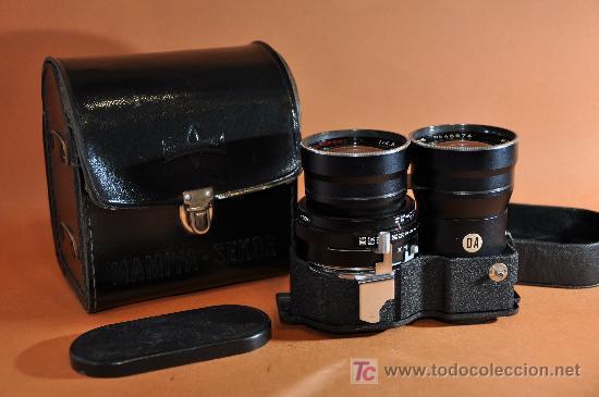 Cámara de fotos: MAMIYA TLR Super 180mm 4.5 + Funda - Foto 1 - 17932552