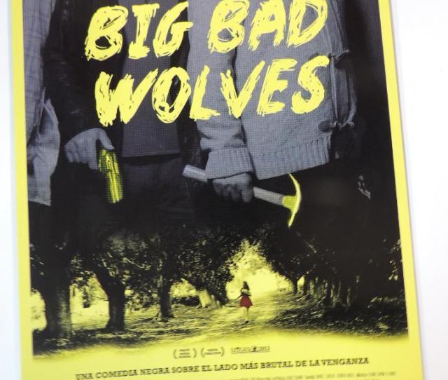Big Bad Wolves Guia Publicitaria Original Aharon Keshales Cine Israel