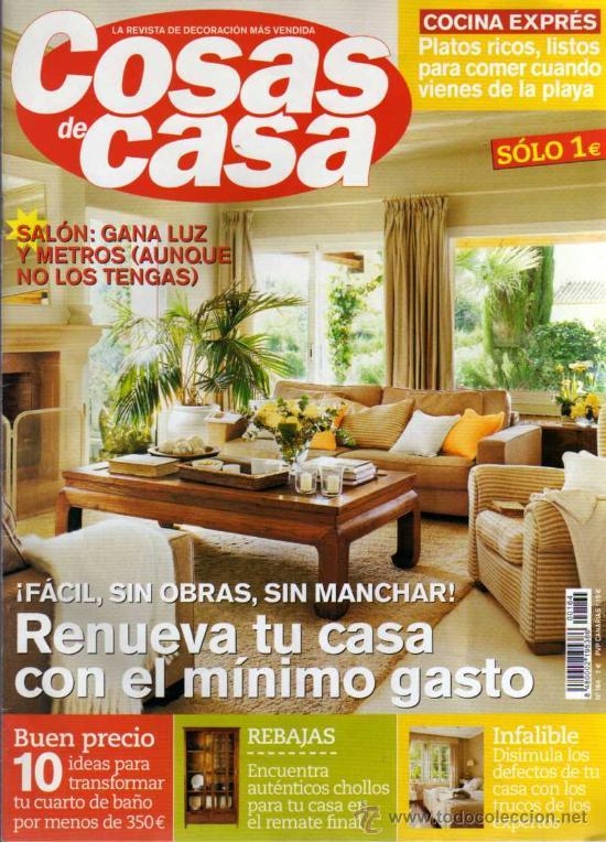 Cosas de casa revista for Revistas de decoracion de casas