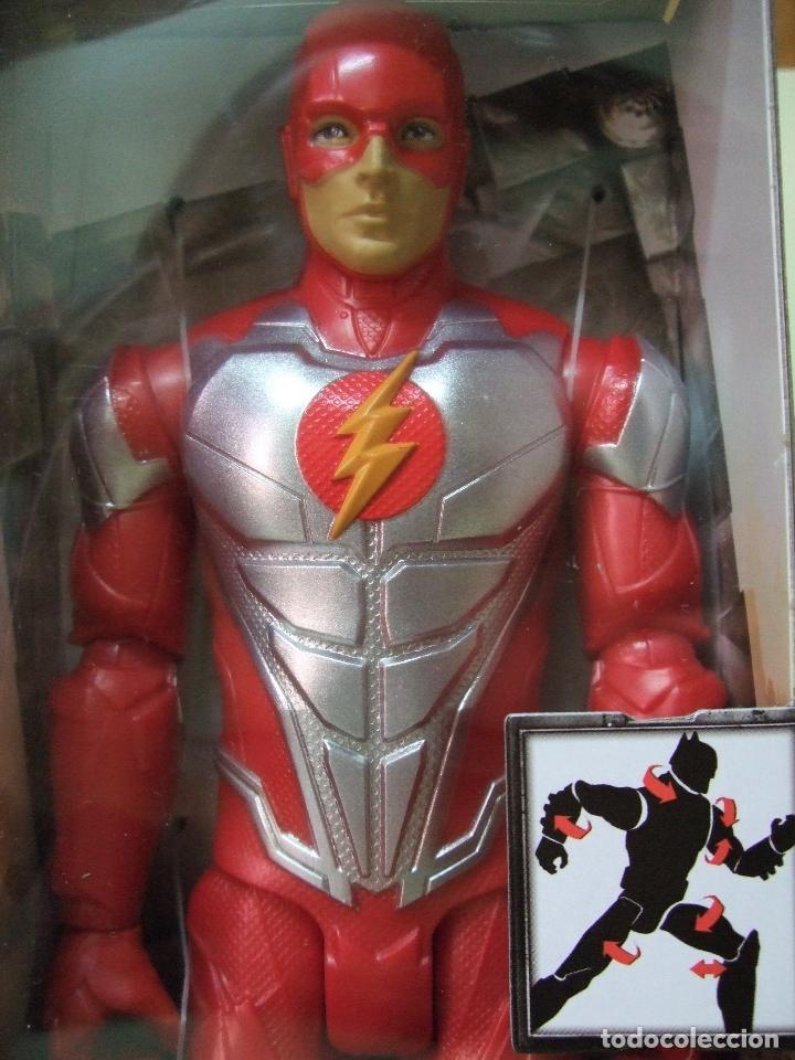 figura the flash metallic armor 30 cm