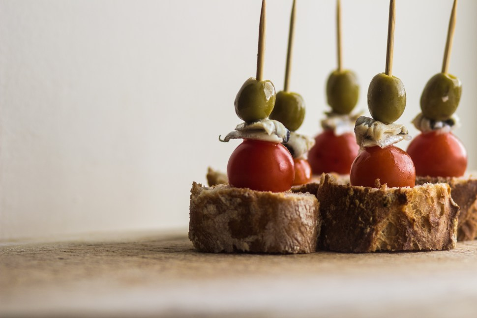 Basque Food - Pintxos