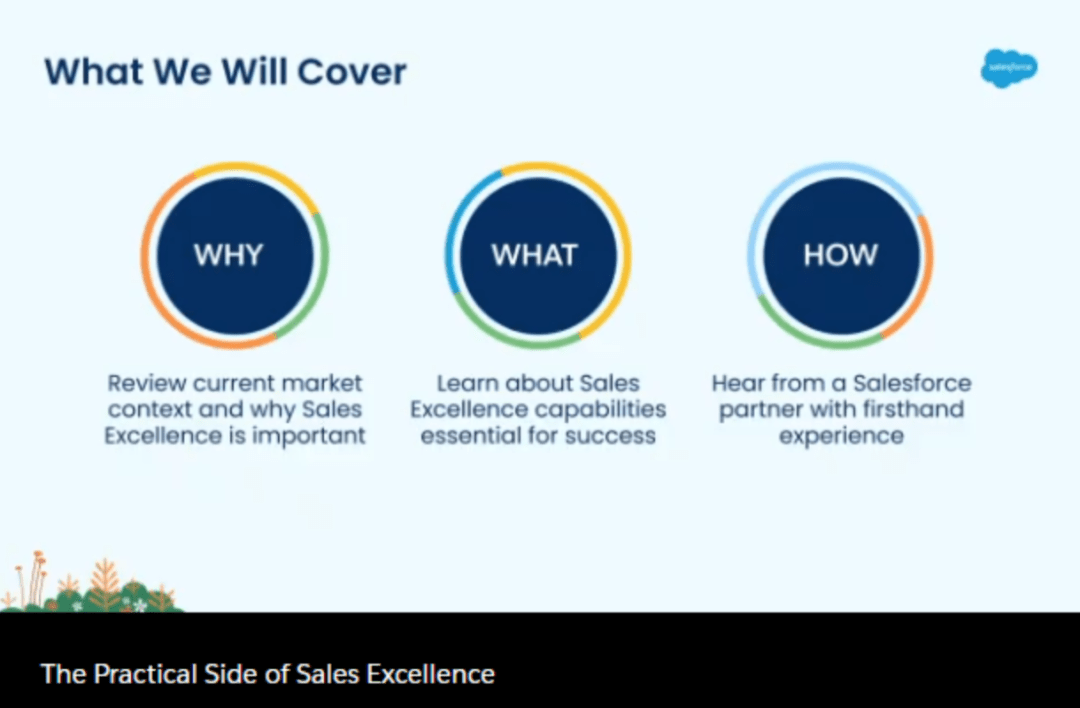 salesforce and sales excellence