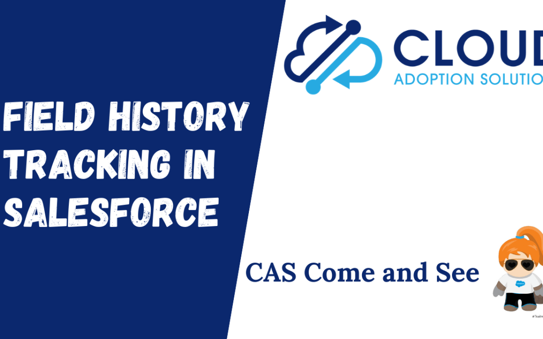 Field History Tracking in Salesforce: Come and See Video