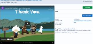 Home/Child Salesforce Kanban App