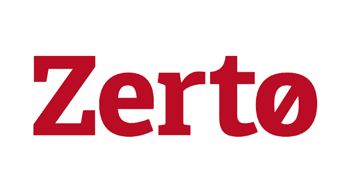 Zerto Raises the Curtain on Plans to Extend its IT Resilience Platform to Next-Gen Applications at ZertoCON 2020