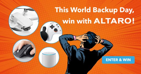Celebrate World Backup Day & WIN with Altaro!