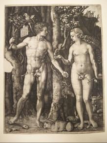 Durer's 1507- Adam and Eve