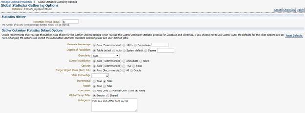 Oracle 12c gather statistics oracle deep dive | clouddba