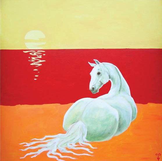 beach-horse