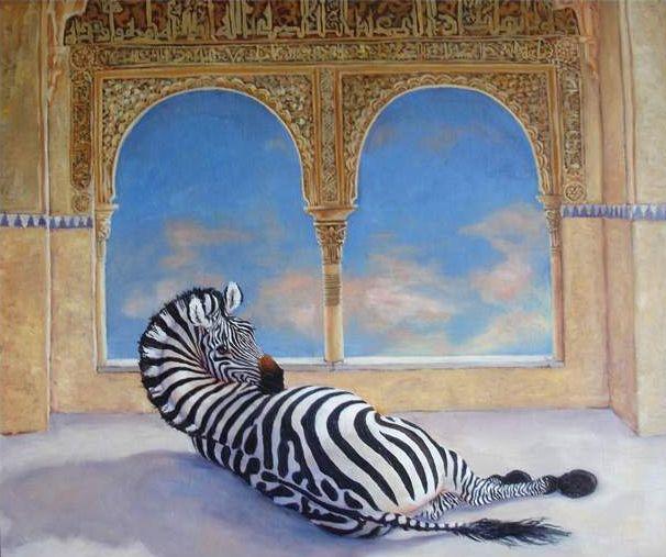 zebra-in-the-alhambra
