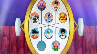 The matchup board.