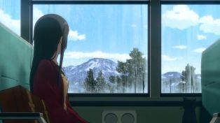 Peaceful train ride.
