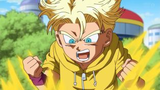Now that's the Trunks hair.