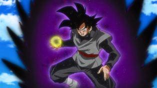 He has purple power.