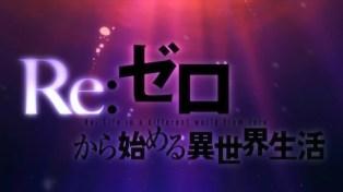 Re Zero - 14 - 06 Title Card