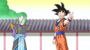 Goku always gets his way.