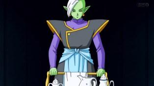 He still brought the tea.