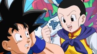 Goku slept through his son's movie.