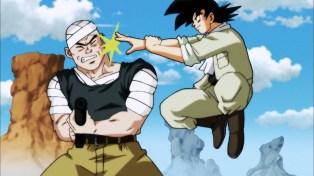 Goku is the police now.