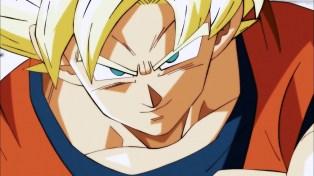 Smug Goku.