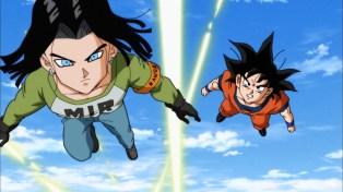 Keep up, Goku.