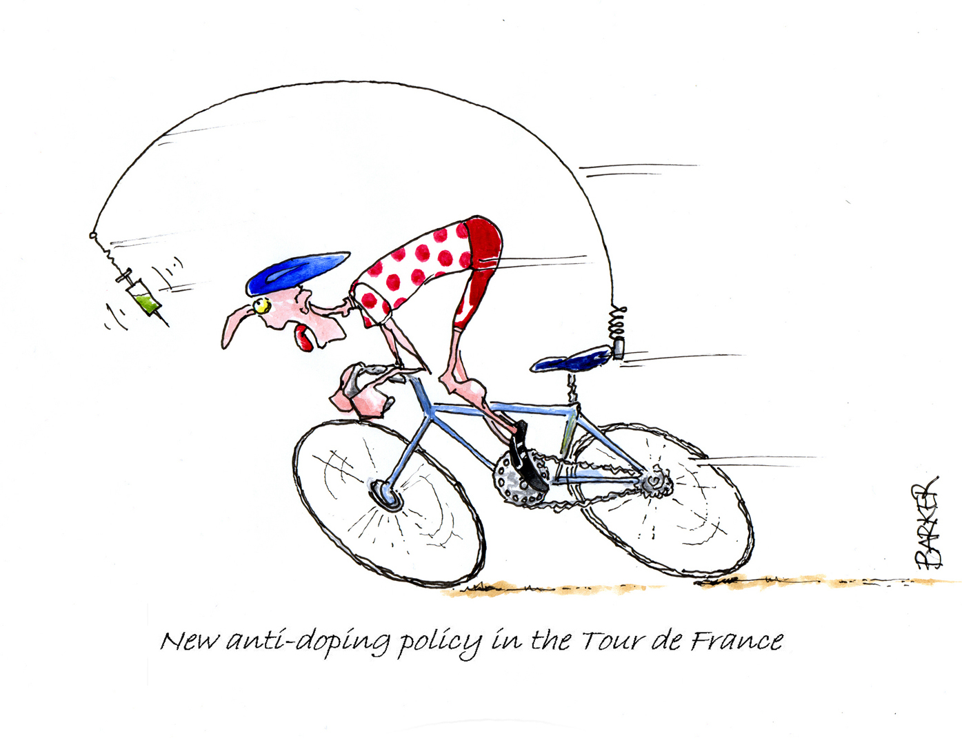 New Anti Doping Policy In The Tour De France