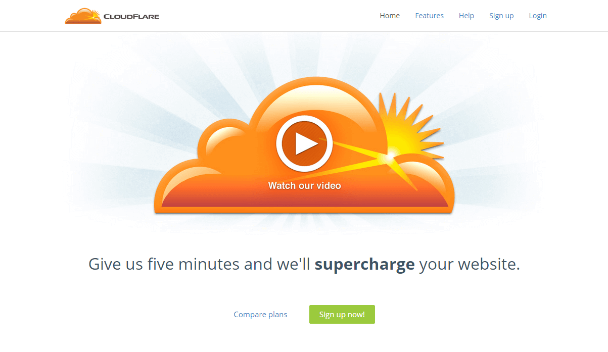 Home – CloudFlare – The web performance &