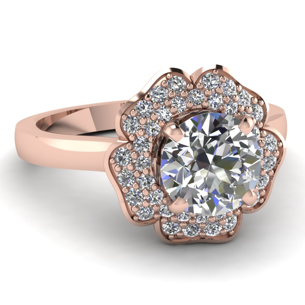 Rose Gold Rings Rose Gold Rings Diamonds