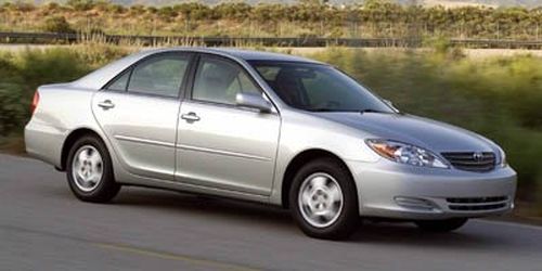 used 2005 toyota camry le