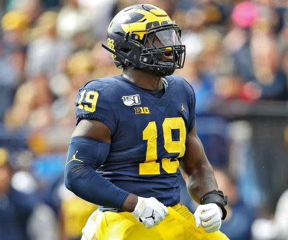 Michigan's Kwity Paye up to No. 14 in new NFL mock draft - mlive.com