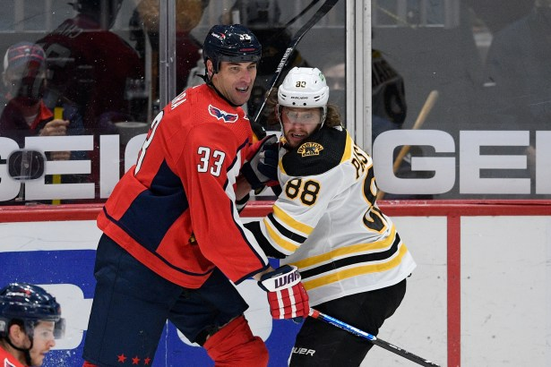 Boston Bruins rally from three-goal deficit, lose to Washington Capitals,  4-3 in overtime - masslive.com