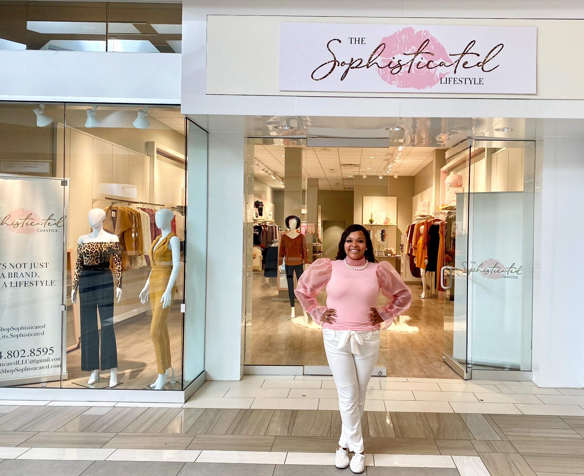 the sophisticated lifestyle boutique