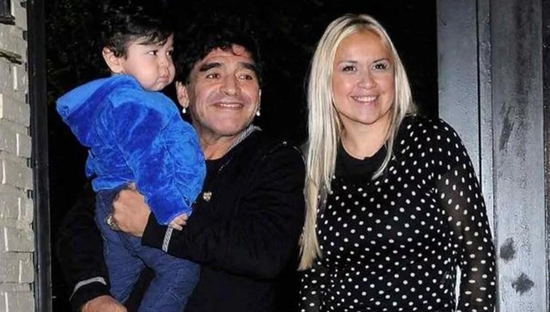 En medio del escándalo de la familia Maradona, Verónica Ojeda contó cómo  fue el diálogo entre su hijo y Diego   Da La Nota