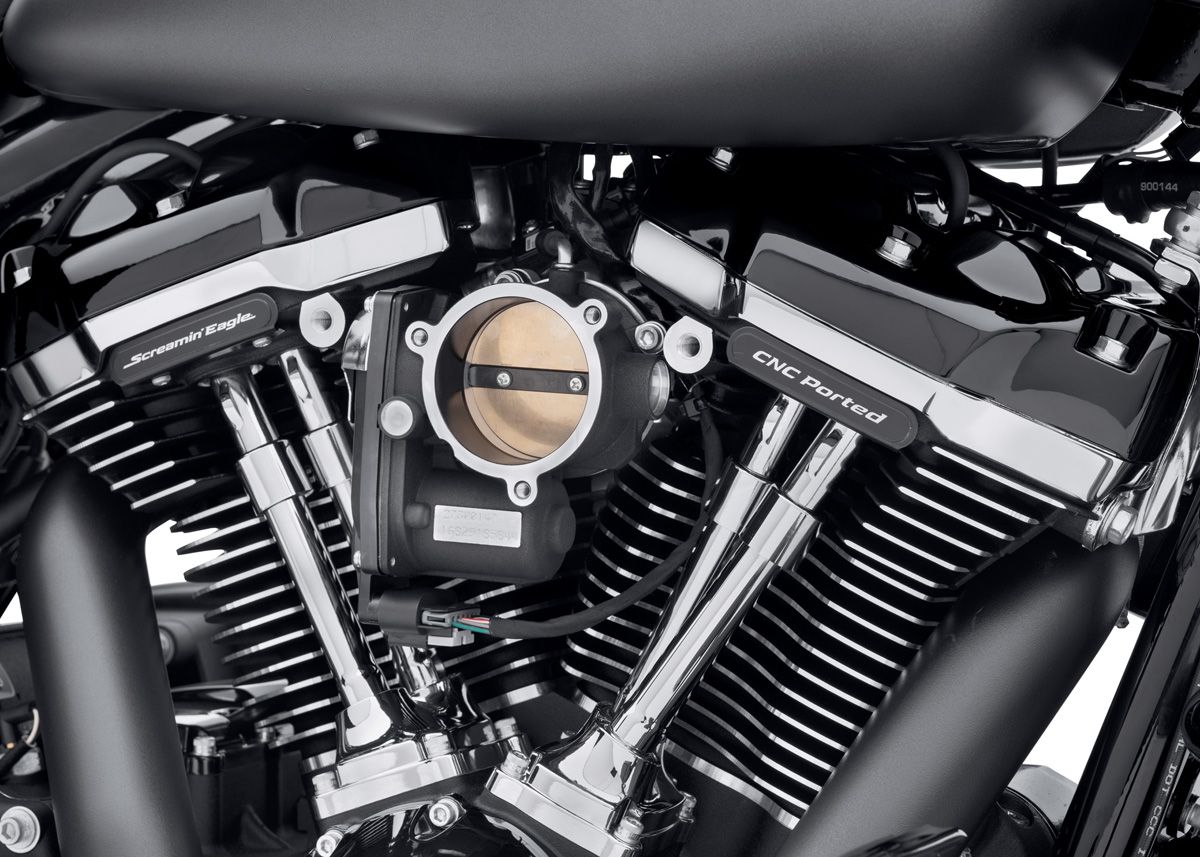 https www motorcyclistonline com boost horsepower and torque with harley davidsons new screamin eagle milwaukee eight stage iv kit