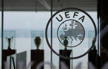 Soccer Football - UEFA Executive Committee Meeting - Nyon, Switzerland - December 4, 2019 General view inside the venue REUTERS/Denis Balibouse