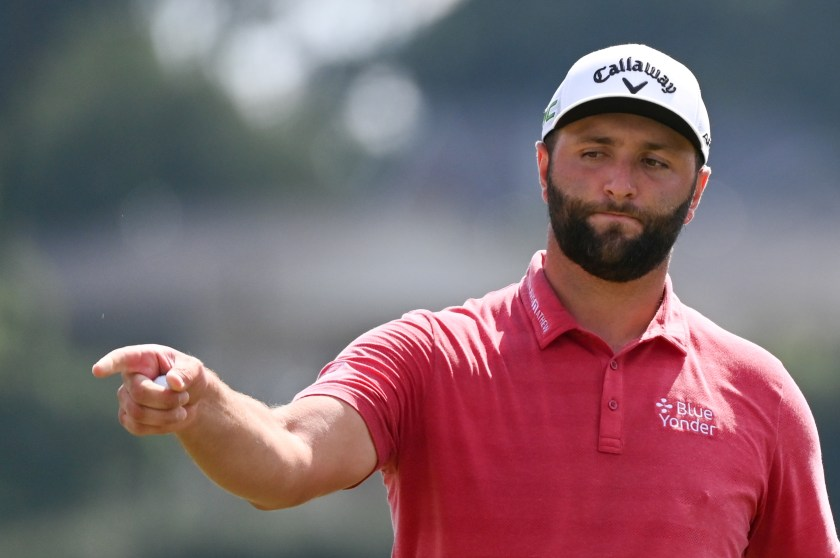 Stomach bug-stricken Rahm soldiers on with eye on Ryder Cup   Reuters