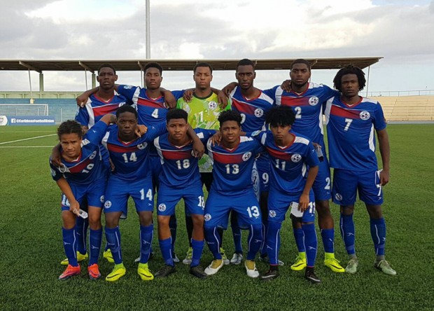 U20 Bermuda National Team Oct 2016