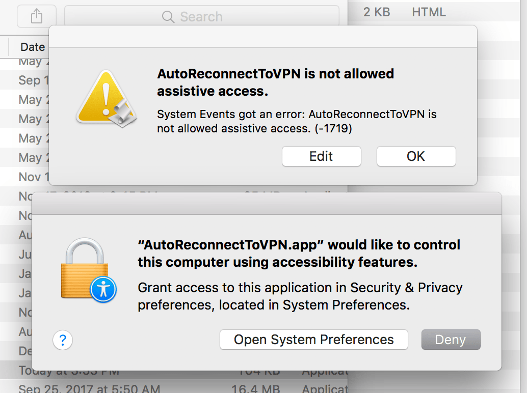 How To Setup An Auto Reconnect Script For An Ikev2 Ipsec Vpn Service On Your Mac