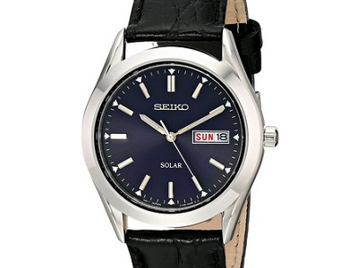 Seiko Solar SNE049 | 10 Worthy Watches Under $100 on Dappered.com