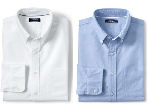 Tailored Fit Buttondown Sail Rigger Oxford
