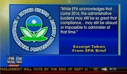 Fox EPA excerpt