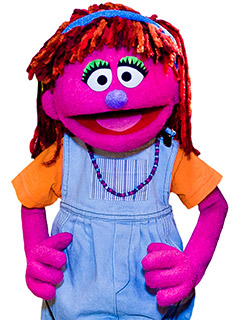 Lily the Hungry Muppet