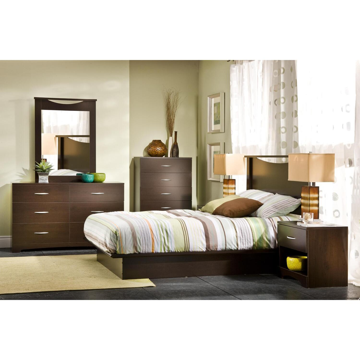 7 piece bedroom set - interior design