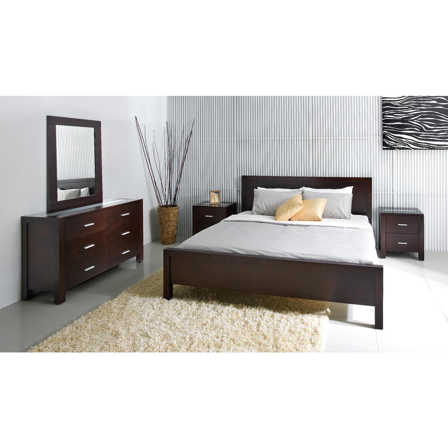 Abbyson Living 5pc Cal King Bedroom Set By Oj Commerce